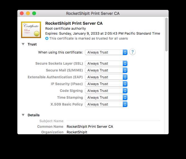 Thermal Printing — Docs for UPS PHP API, FedEx PHP API, and